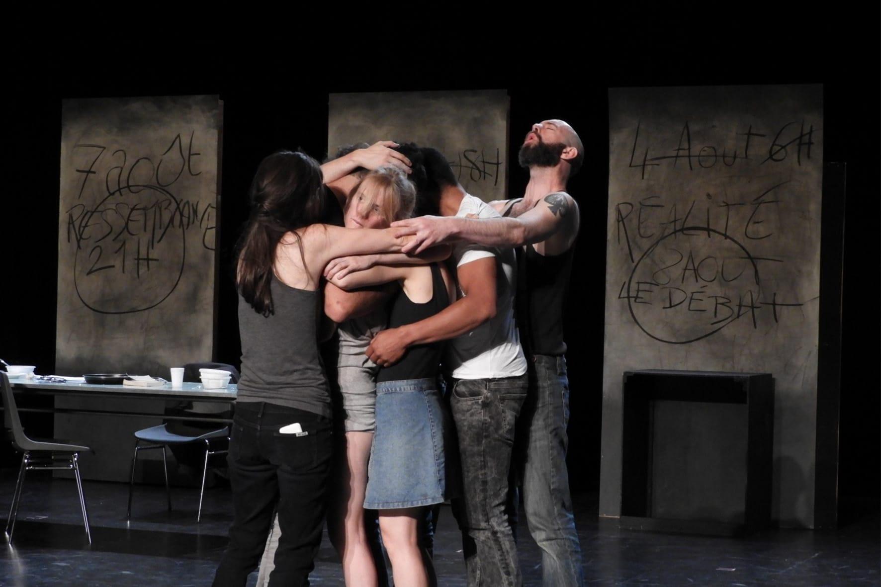 Héloise ou la rage du réel par Pauline Laidet photo de répétition spectacle