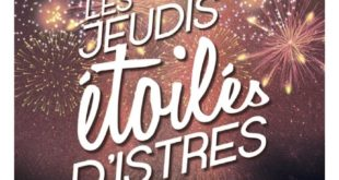 Les Jeudis Etoilés 2019 affiche évènement Istres