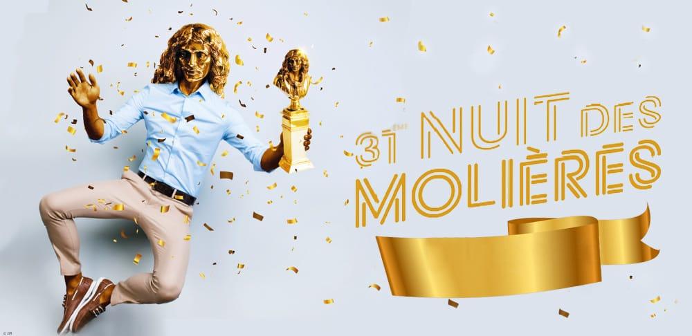 Affiche 31ème Nuit des Molières