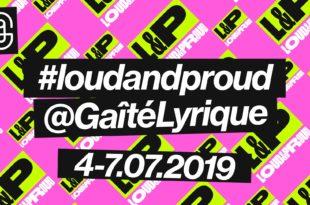 Loud & Proud 2019 image évènement Queer, féministe et intersectionnel