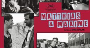 Matthias & Maxime de Xavier Dolan affiche film cinéma