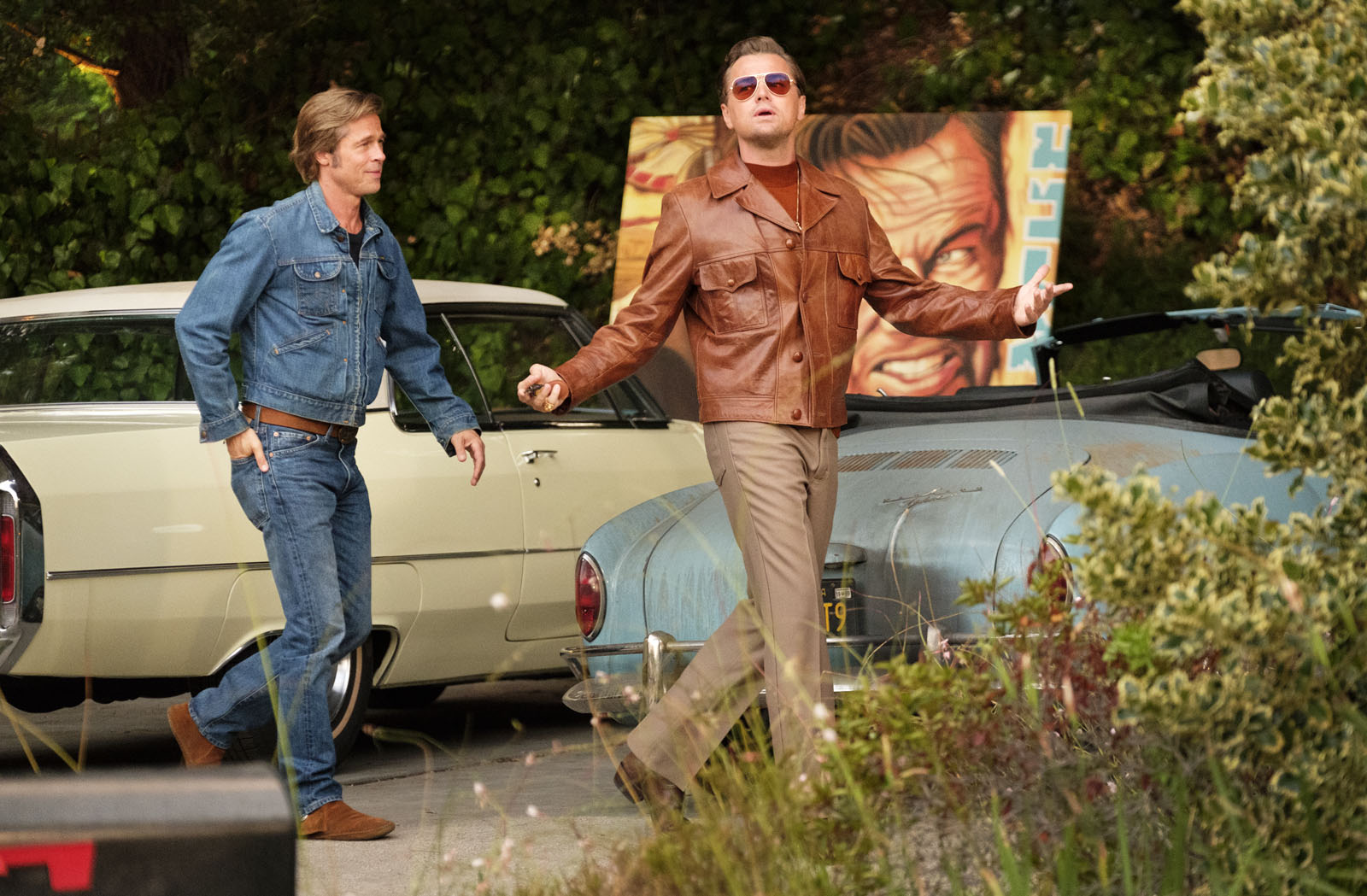 Once Upon a Time… in Hollywood Photo Brad Pitt, Leonardo DiCaprio critique film avis 2