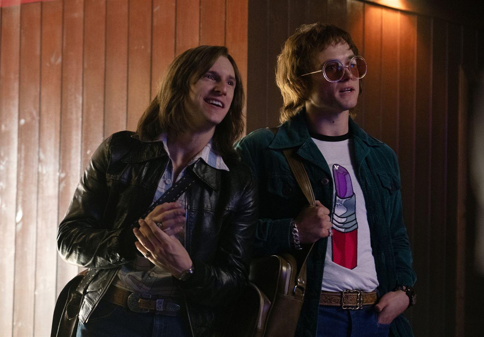 Rocketman - Photo Jamie Bell, Taron Egerton critique avis film cannes 2019