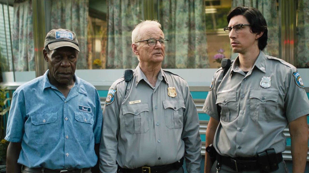 The Dead Don't Die critique film avis cannes 2019 Photo Adam Driver, Bill Murray, Danny Glover