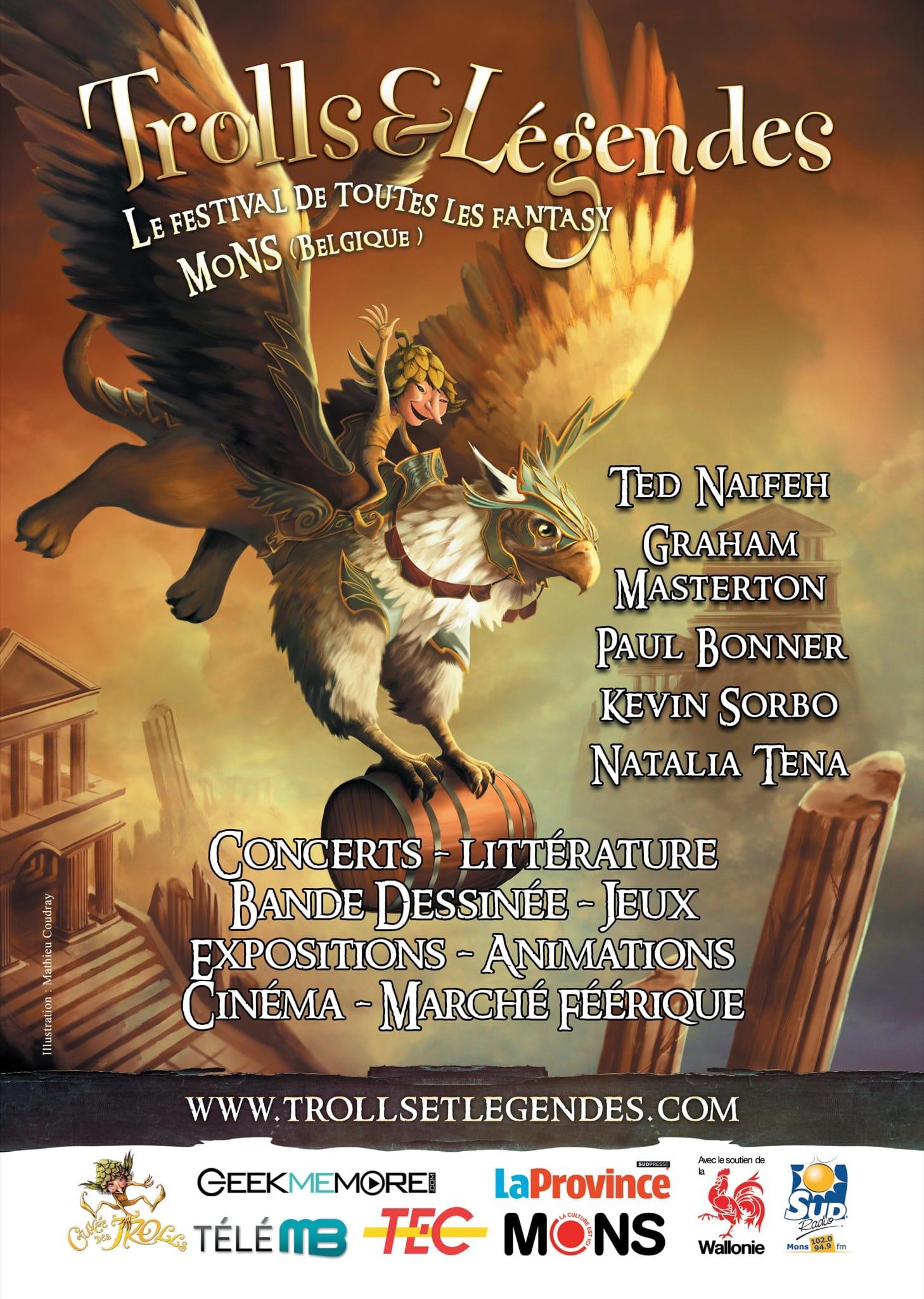 Trolls et Légendes 2019 affiche festival de fantasy