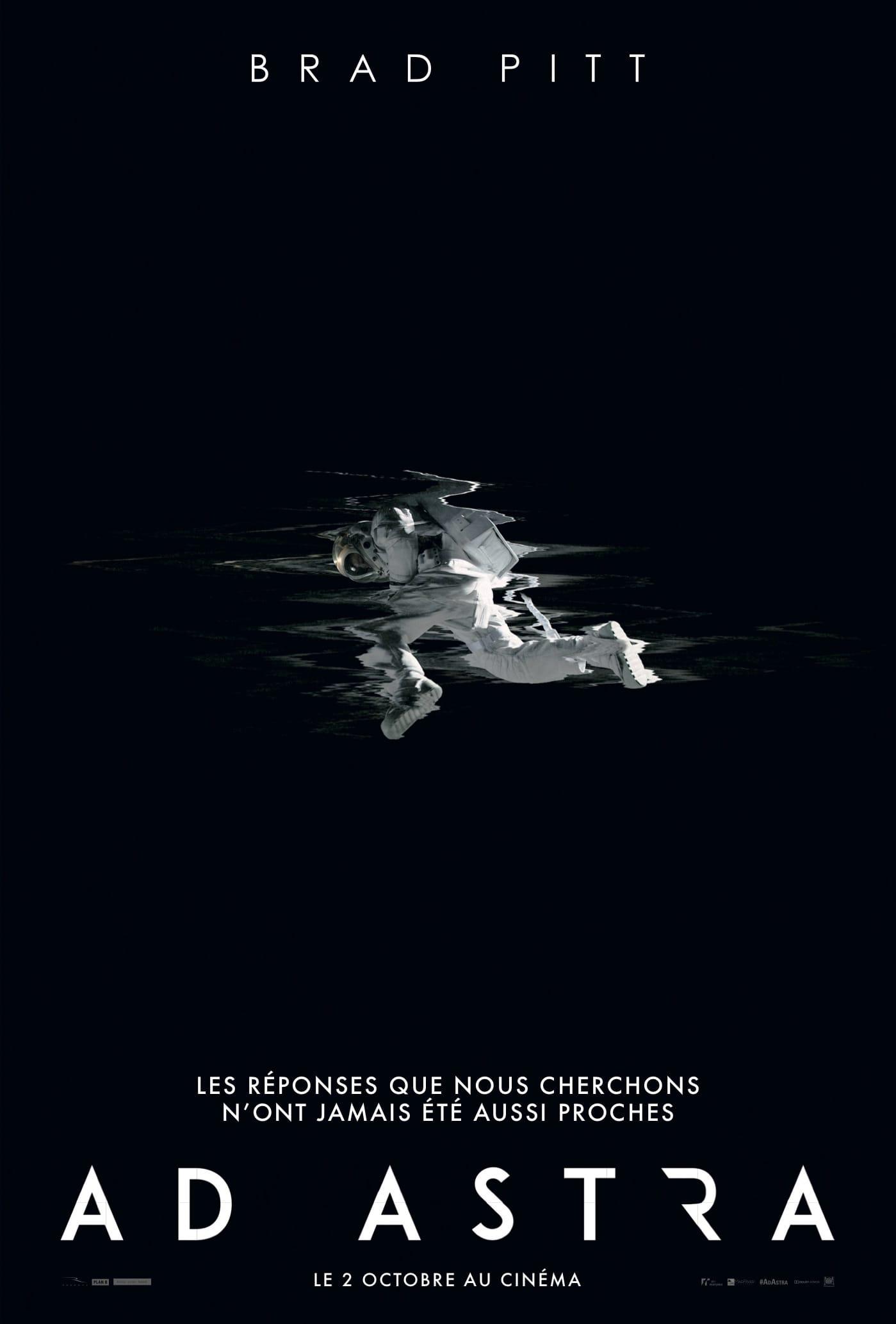 Ad Astra de James Gray affiche teaser film cinéma