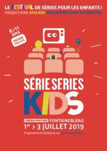 Affiche Série Series Kids 2019 festival séries jeune public