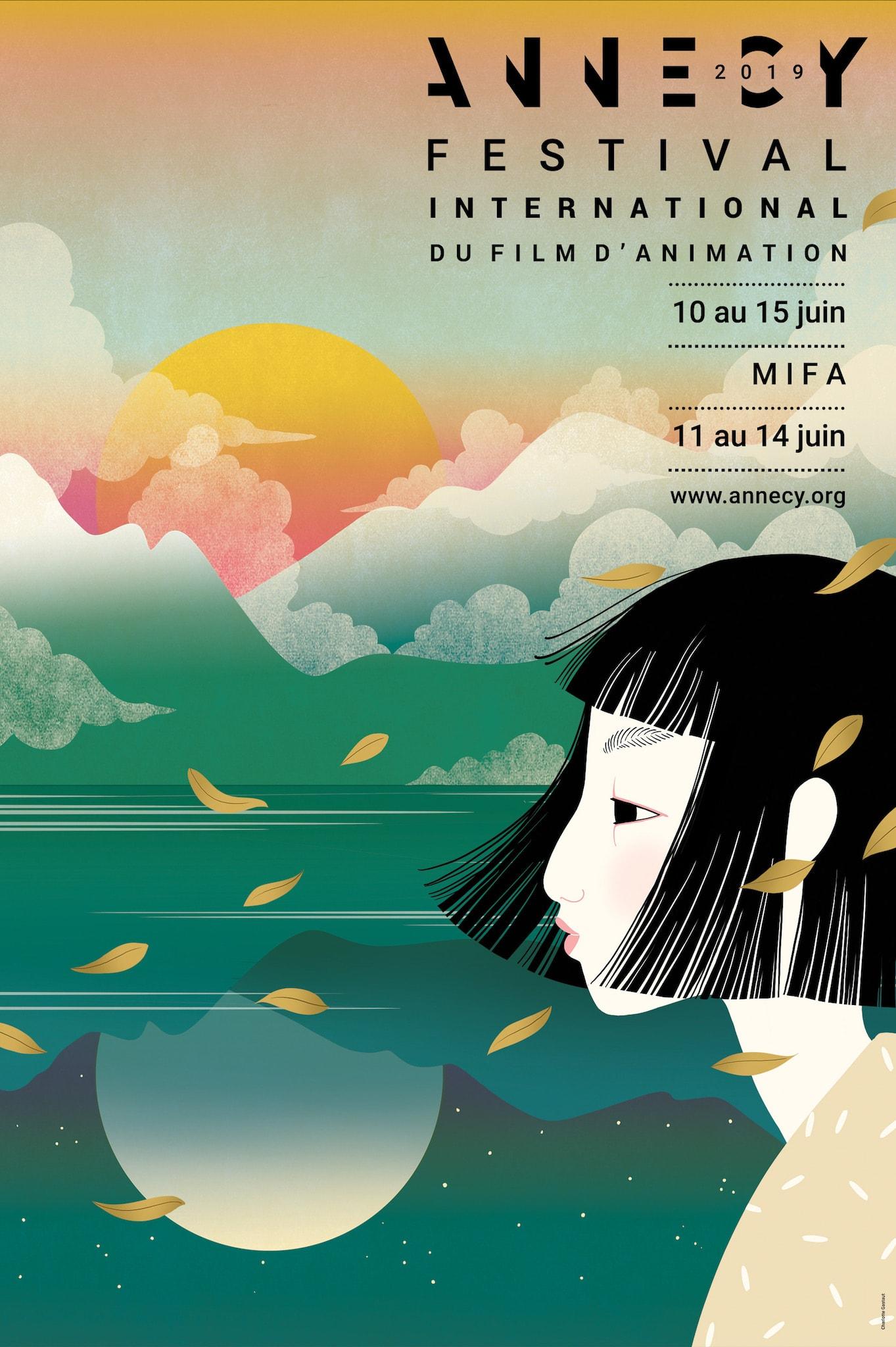 Festival d'Annecy 2019 affiche cinéma télévision VR animation