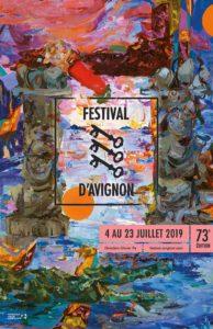 Festival d'Avignon 2019 affiche spectacles
