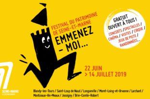 festival du patrimoine de Seine-et-Marne 2019