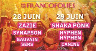 Festival Essonne en scène par les Francofolies affiche