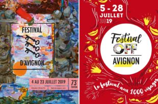 Festival IN et OFF d'Avignon 2019 affiches spectacles
