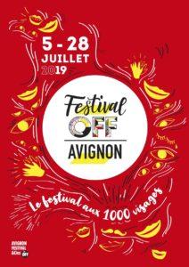 Festival OFF d'Avignon 2019 affiche spectacles