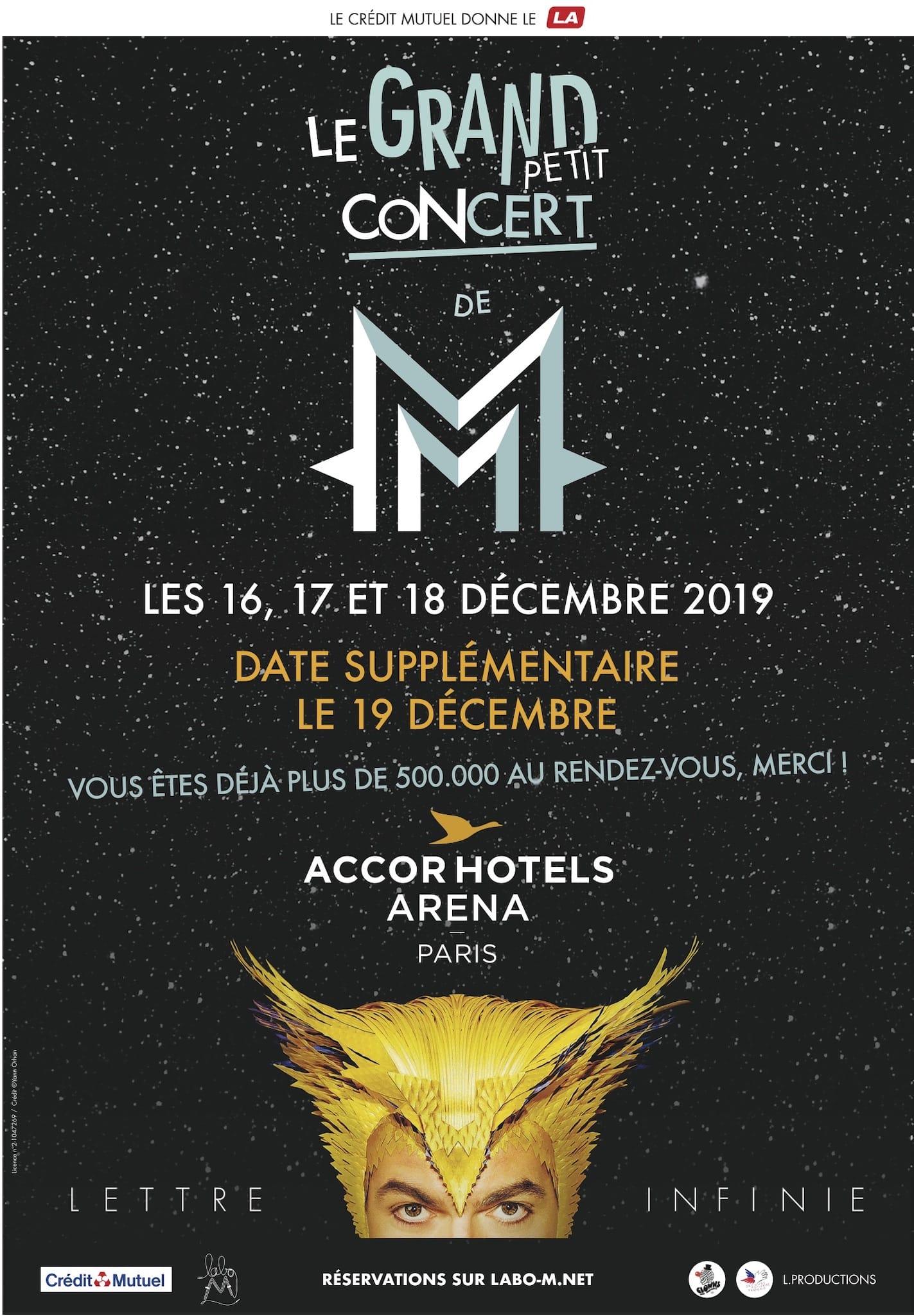 Le Grand Petit Concert de -M- affiche musique