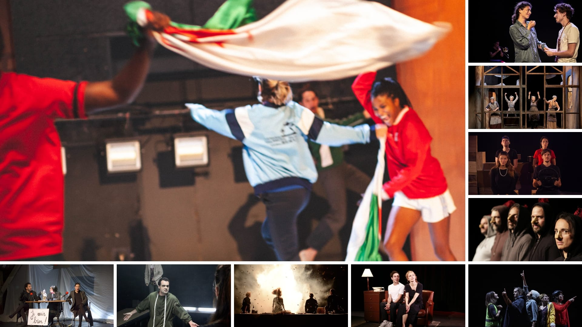 Bulles de Culture image TOP de sortie du festival OFF d'Avignon 2019 théâtre