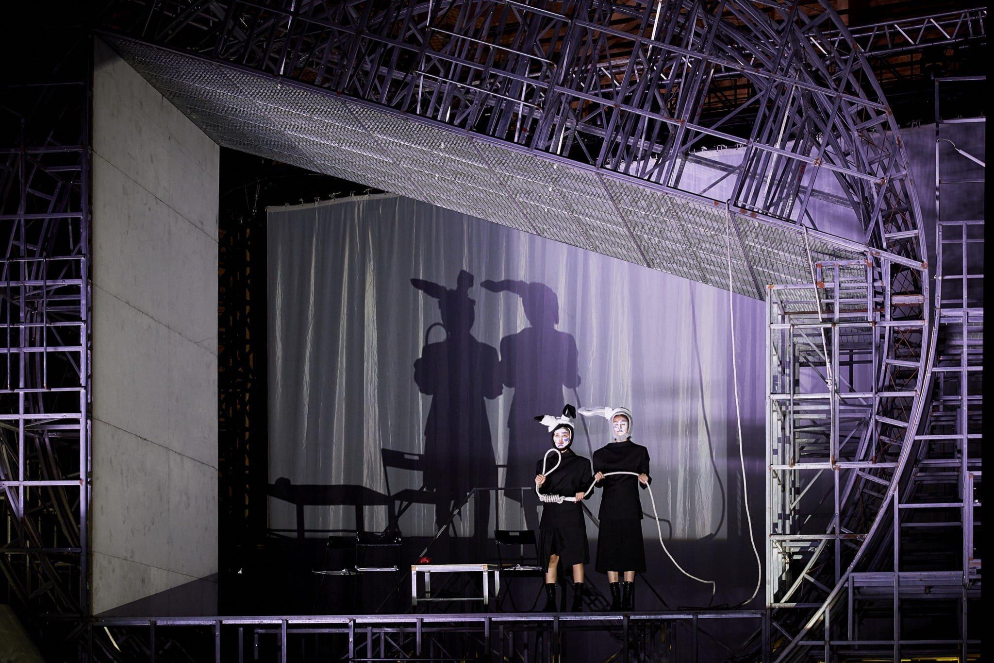 La Maison de Thé de Lao She par Meng Jinghui image théâtre