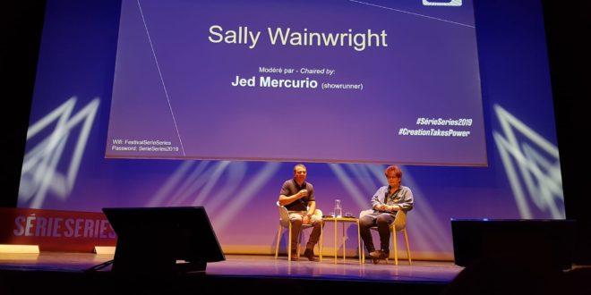 Masterclass Sally Wainwright animée par Jed Mercurio image festival Série Series 2019