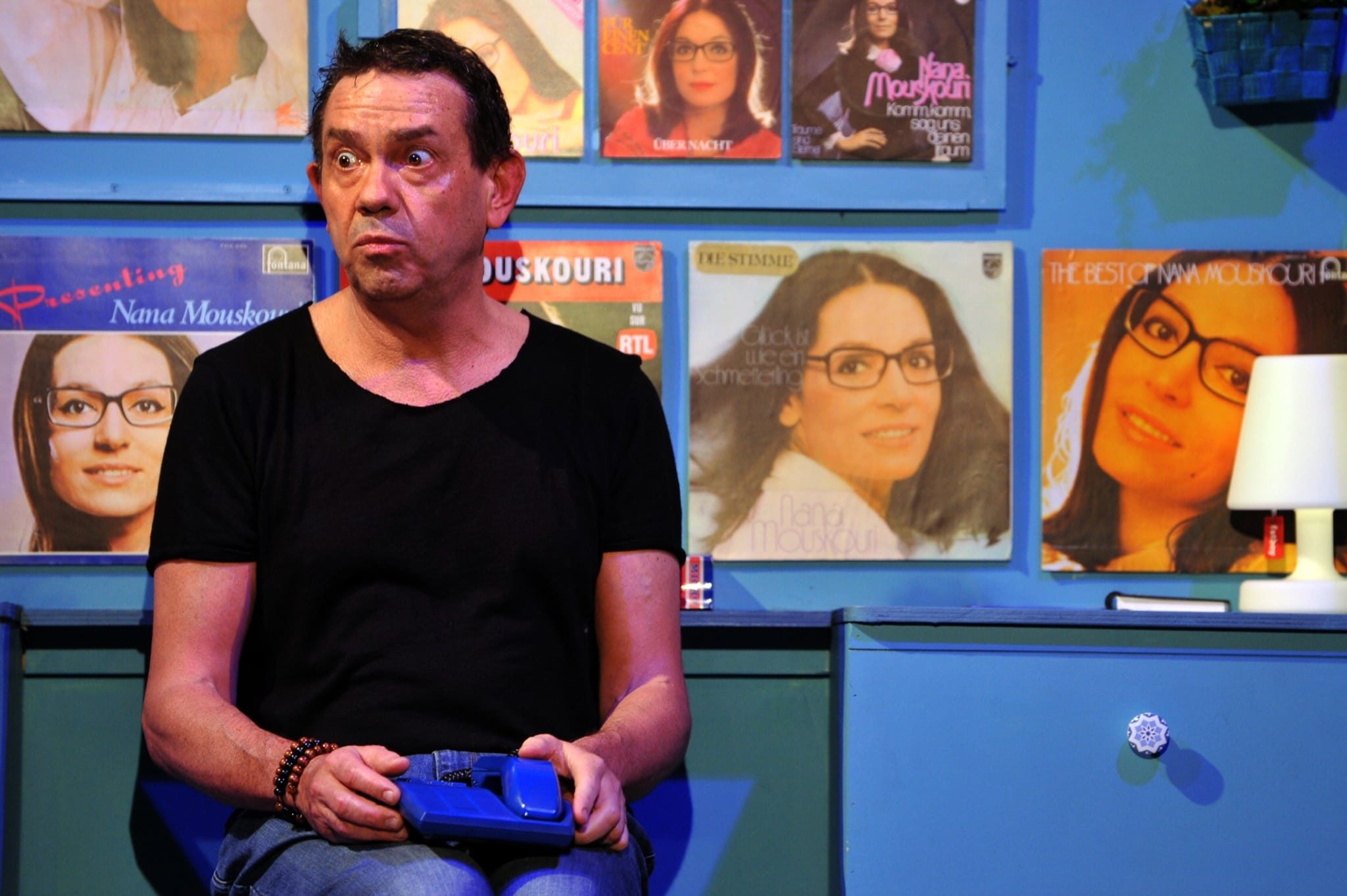 Quand je serai grand, je serai Nana Mouskouri par Virginie Lemoine image théâtre