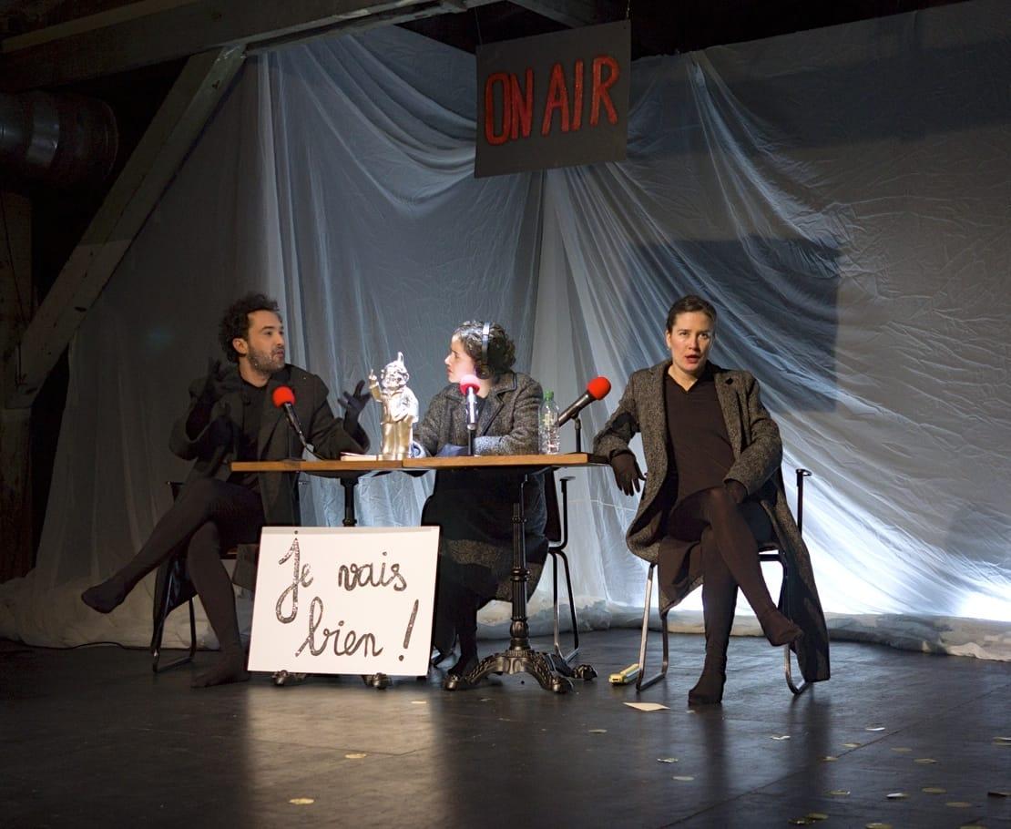 RIEN NE SAURAIT ME MANQUER (J'AI DÉCOUVERT PIERRE RABHI SUR MON IPHONE7) photo théâtre