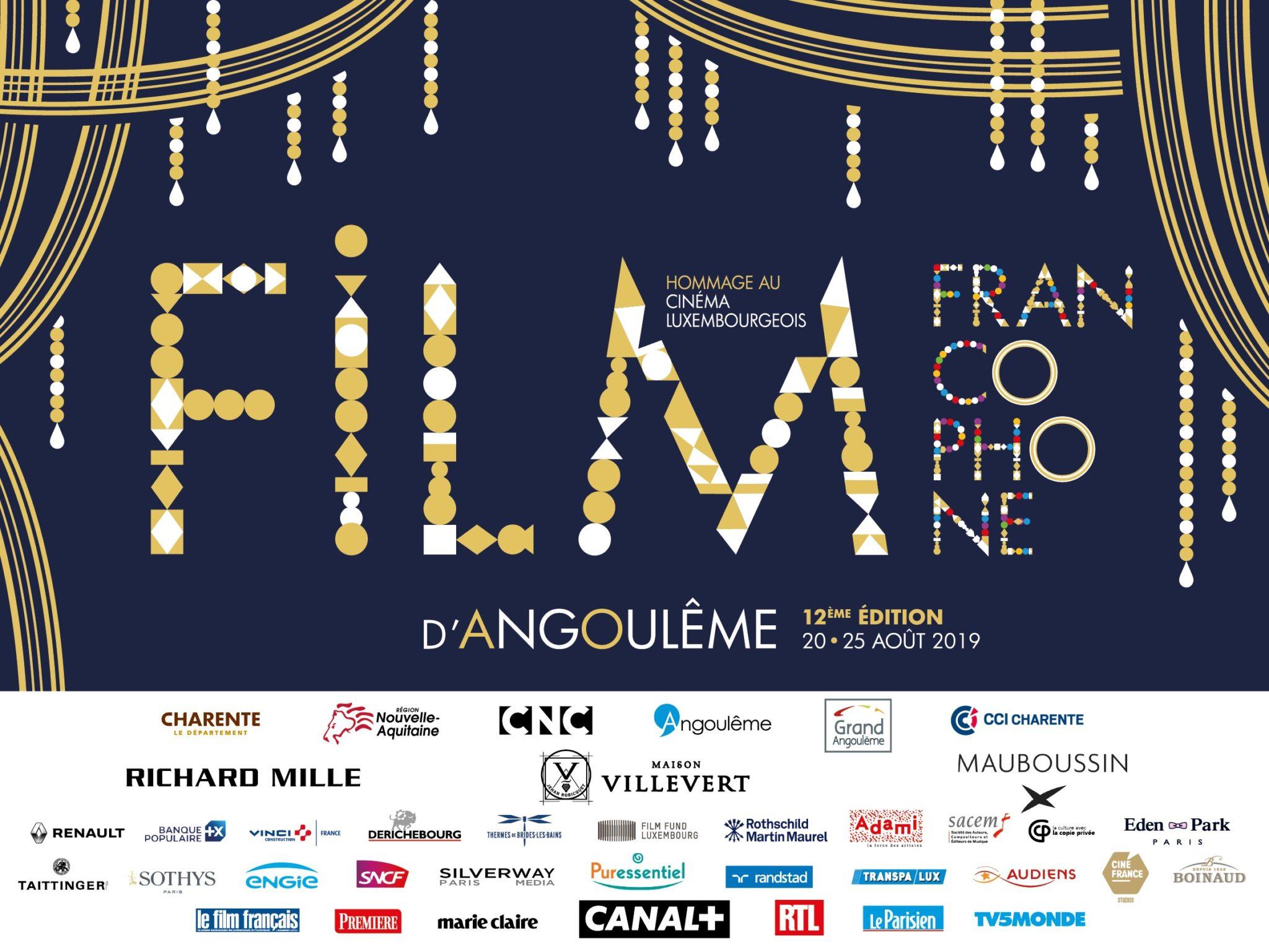 Le programme du Festival du Film Francophone d'Angoulême 2019 1 image