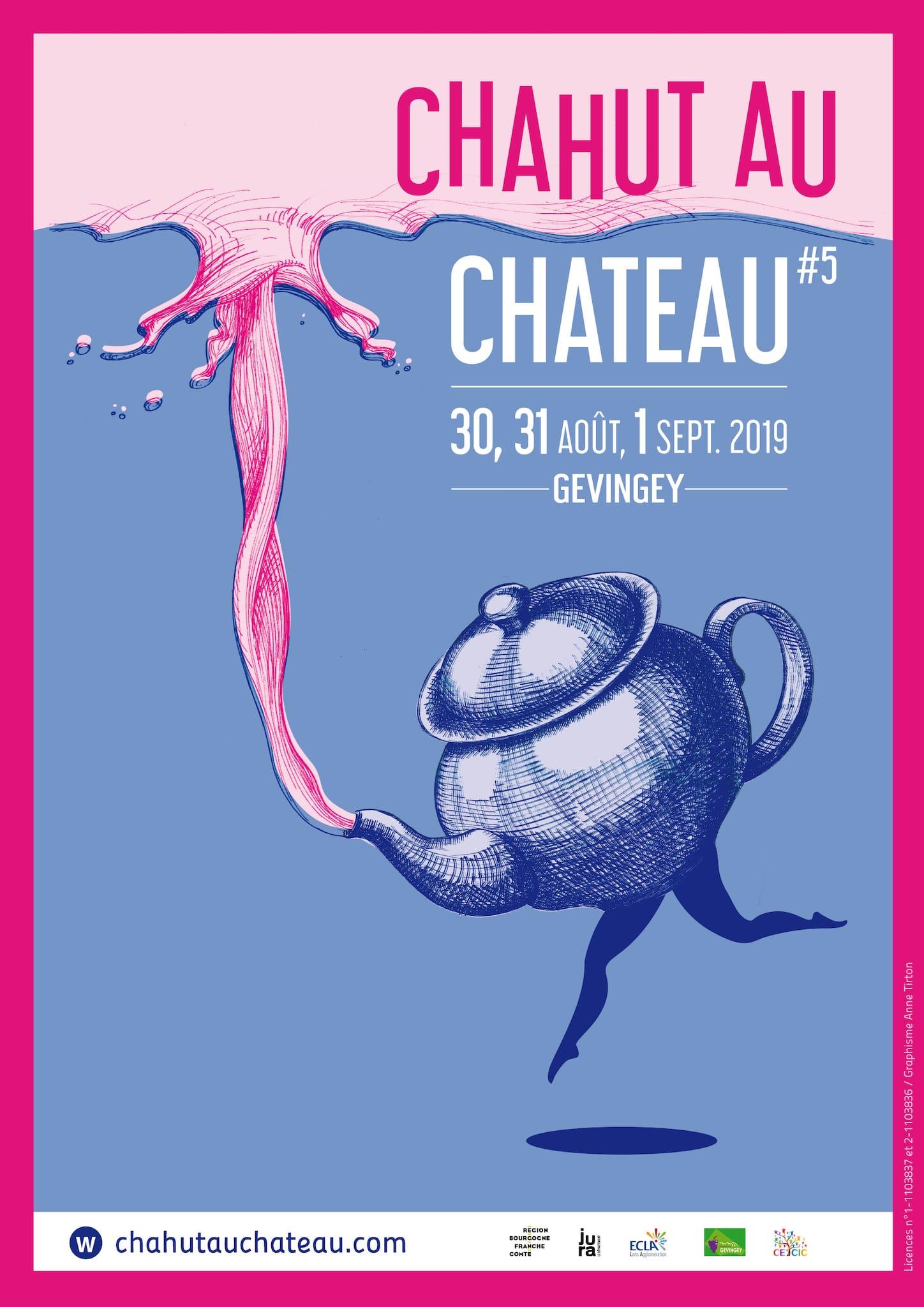 Chahut au Château 2019 affiche festival spectacles et animations