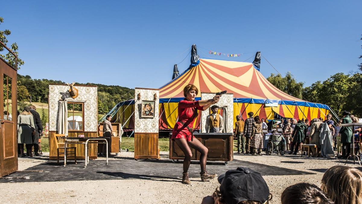 Chahut au Château 2019 image festival spectacles et animations