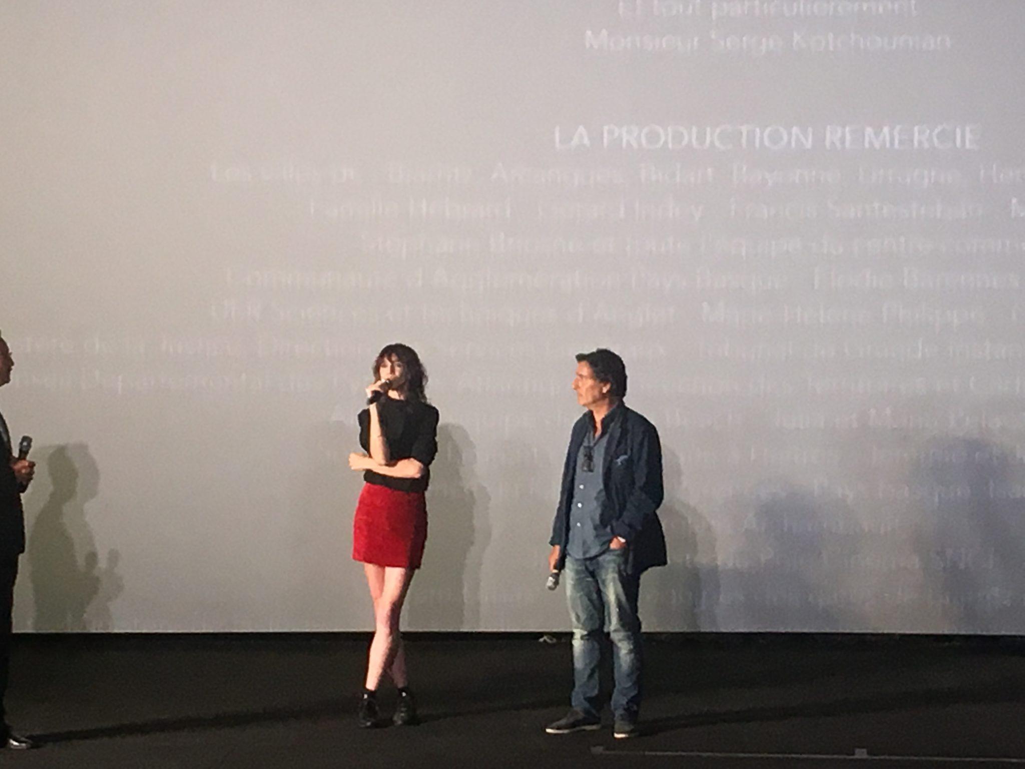 Festival du Film Francophone d'Angoulême Yvan Attal Charlotte Gainsbourg