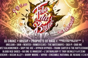Fête du Bruit dans Landerneau 2019 affiche festival musique