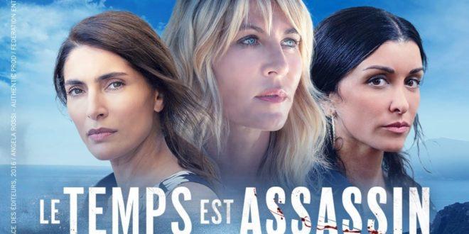 Le temps est assassin de Claude-Michel Rome affiche série télé