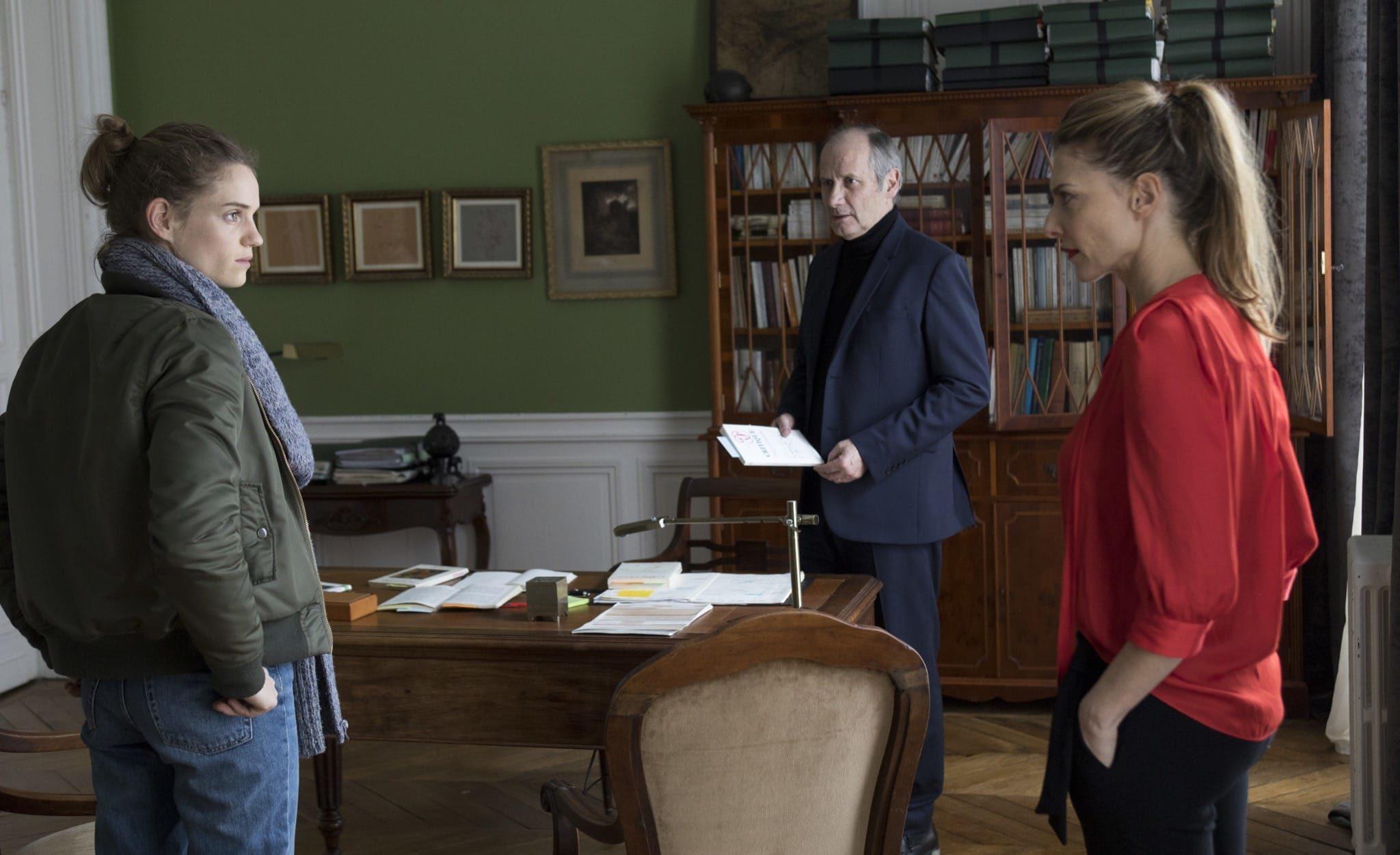 A l'intérieur de Jeanne Le Guillou et Bruno Dega image série télé