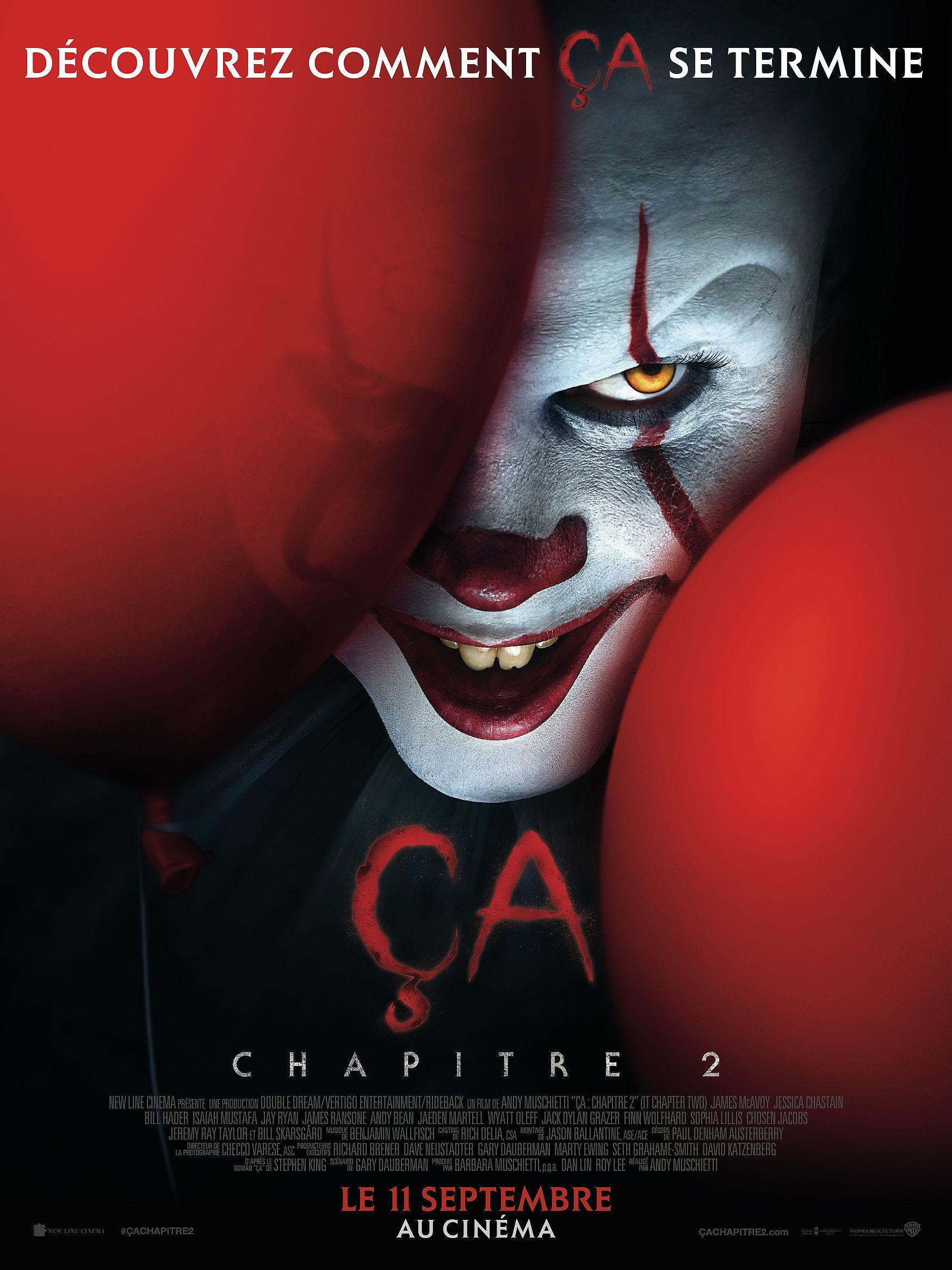 Ça : Chapitre 2 affiche critique avis film