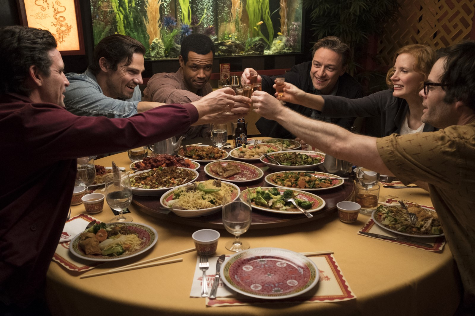 Ça - Chapitre 2 - Photo Bill Hader, Isaiah Mustafa, James McAvoy, James Ransone, Jay Ryan critique avis film