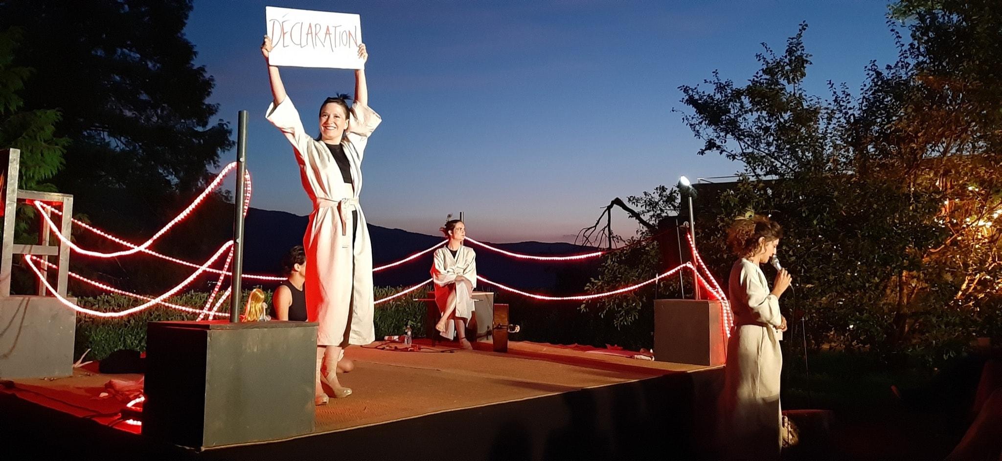 L'Âge Libre de la Compagnie Avant l'Aube image théâtre contemporain