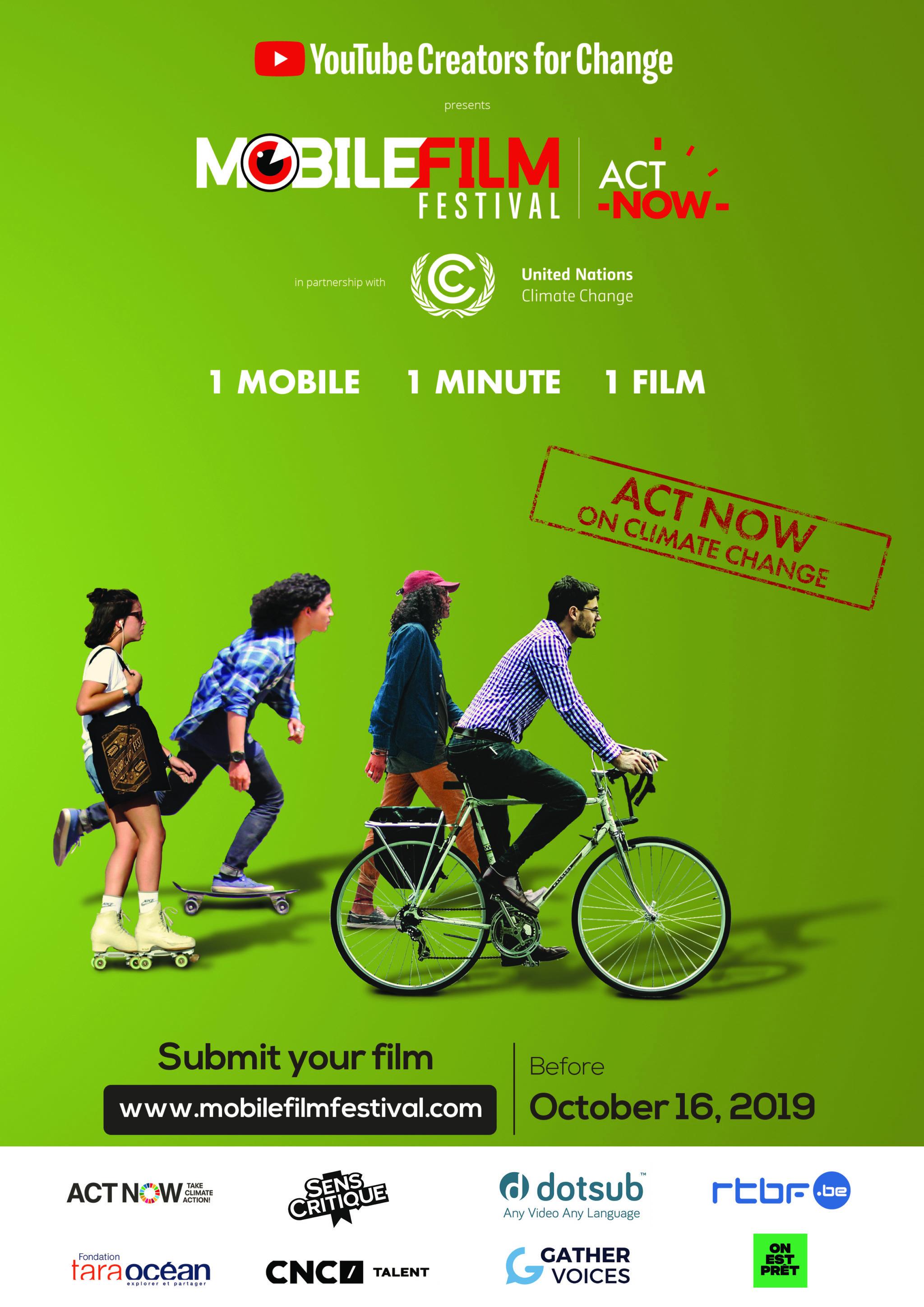 Mobile Film Festival affiche 2019
