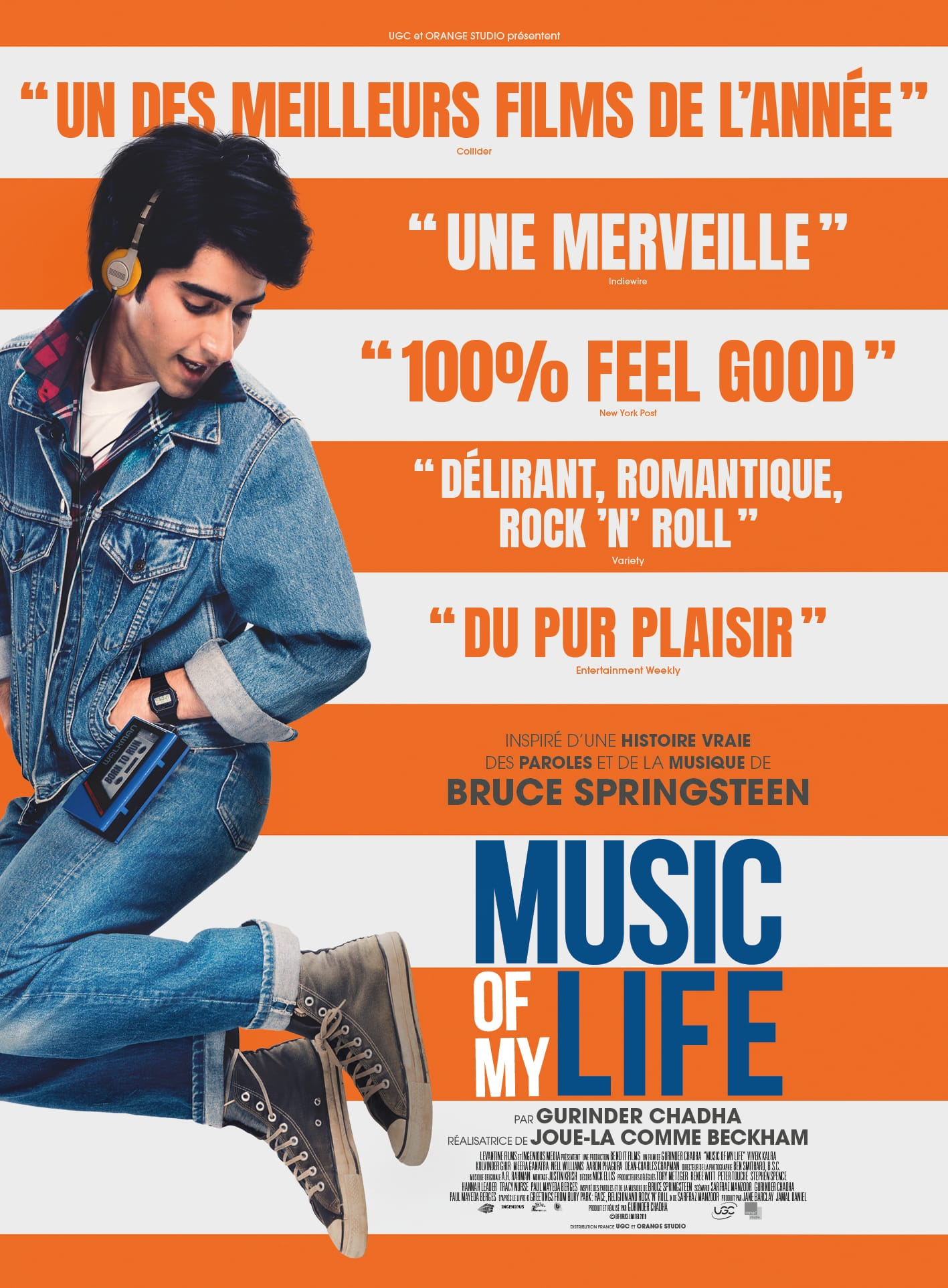 MUSIC OF MY LIFE de Gurinder Chadha affiche film cinéma