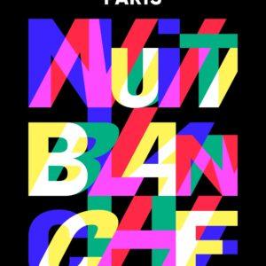 Nuit Blanche 2019 affiche manifestation culturelle Grand Paris