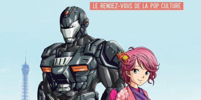 Paris Manga & Sci-Fi Show 2019 affiche convention pop culture