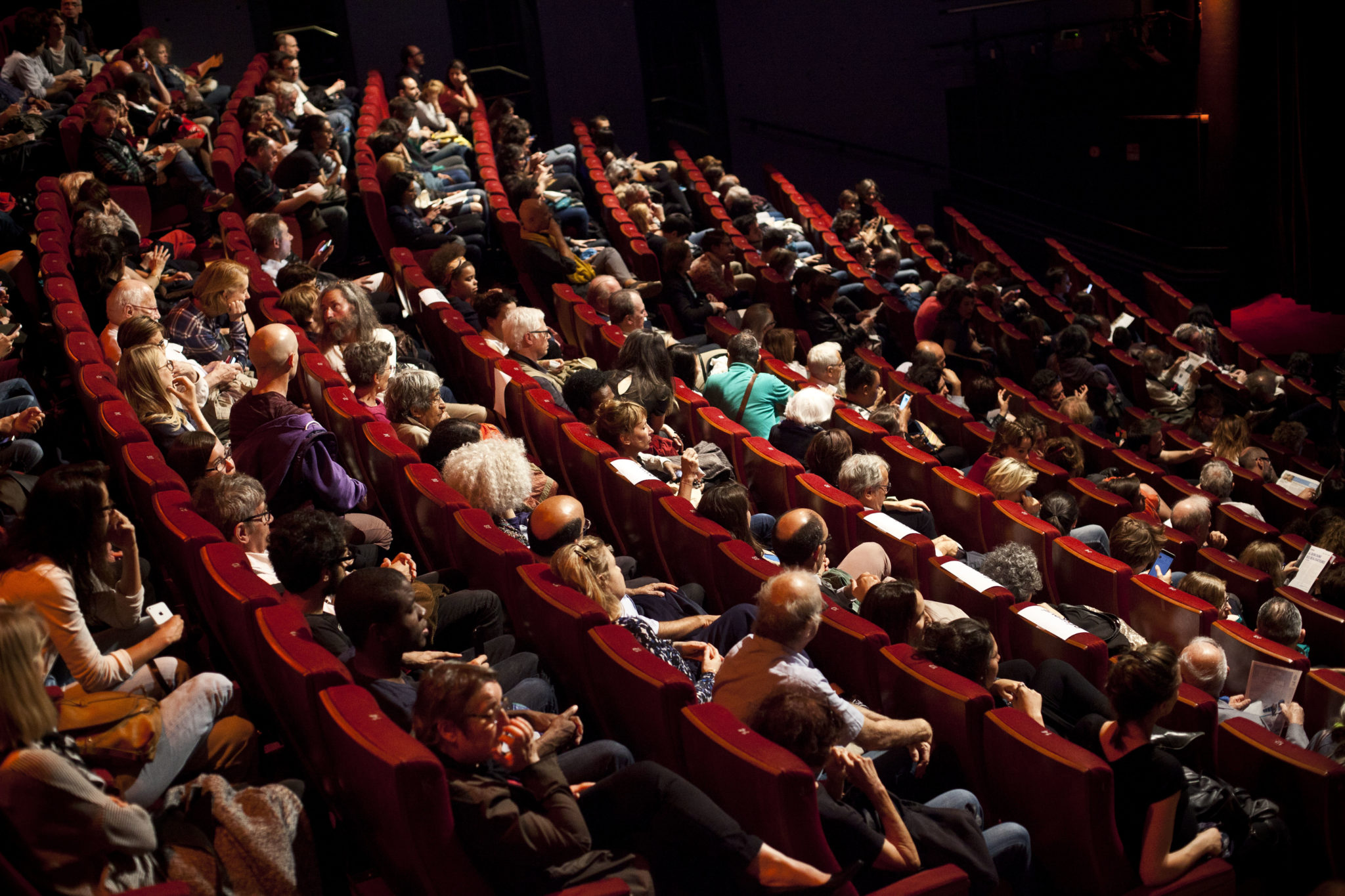 """Rencontre avec Claire Denis, realisatrice du film """"Un beau soleil intérieur"""". Forum des Images, Quinzaine des réalisateurs. Paris, France. Le 07/08/2017"""