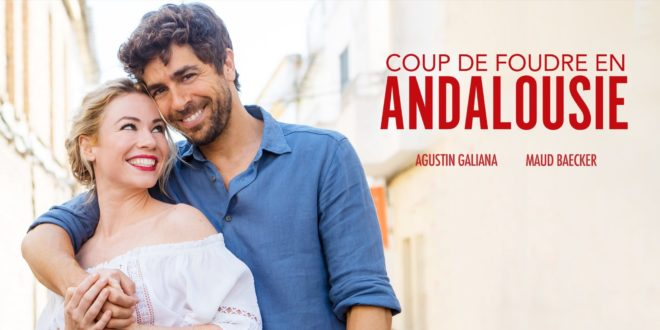 COUP DE FOUDRE EN ANDALOUSIE affiche comédie romantique
