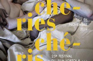 affiche Chéries-Chéris, festival du film lesbien, gay, bi, trans, queer et ++++ de Paris