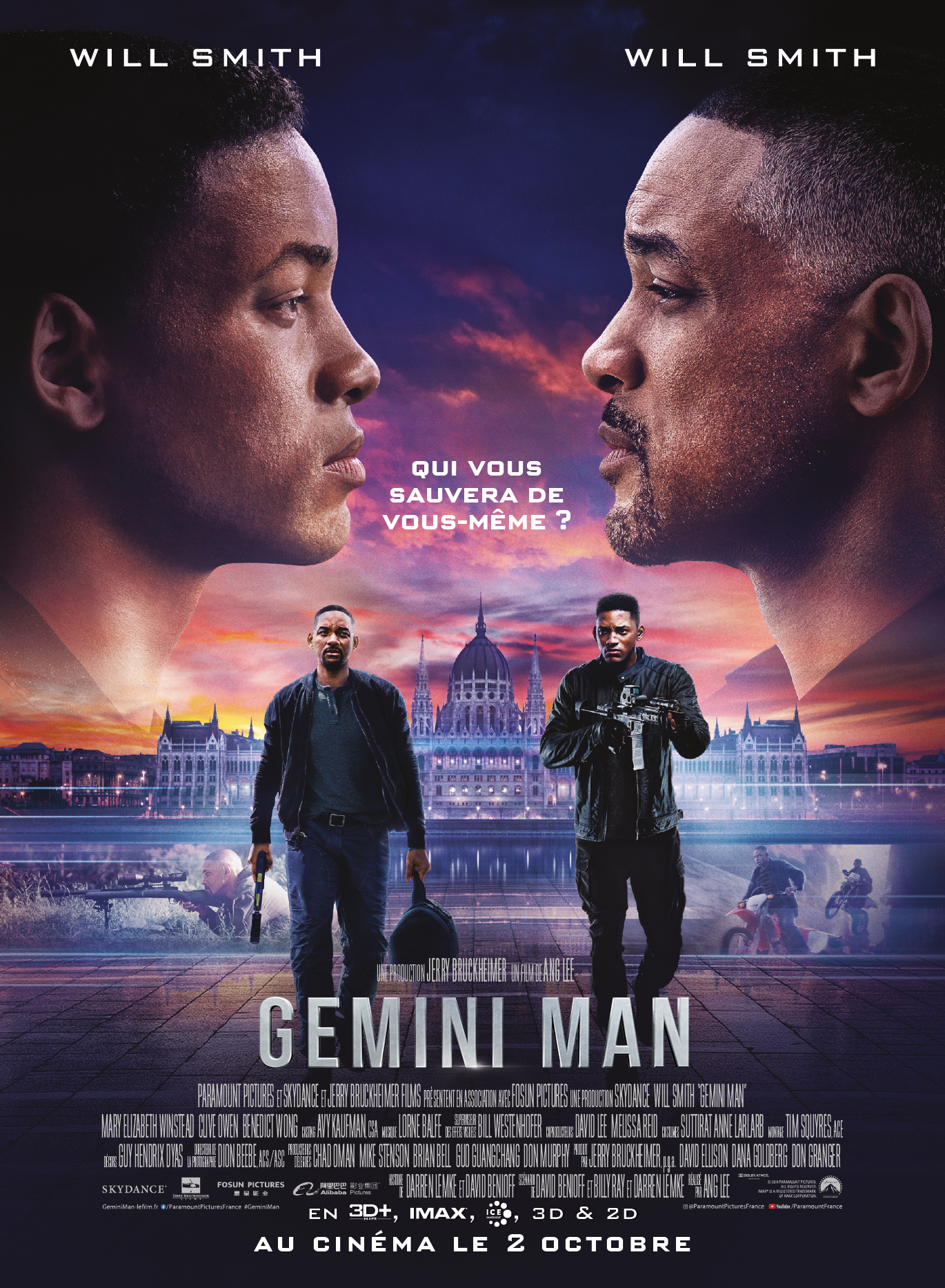 Gemini Man Ang Lee critique avis affiche film