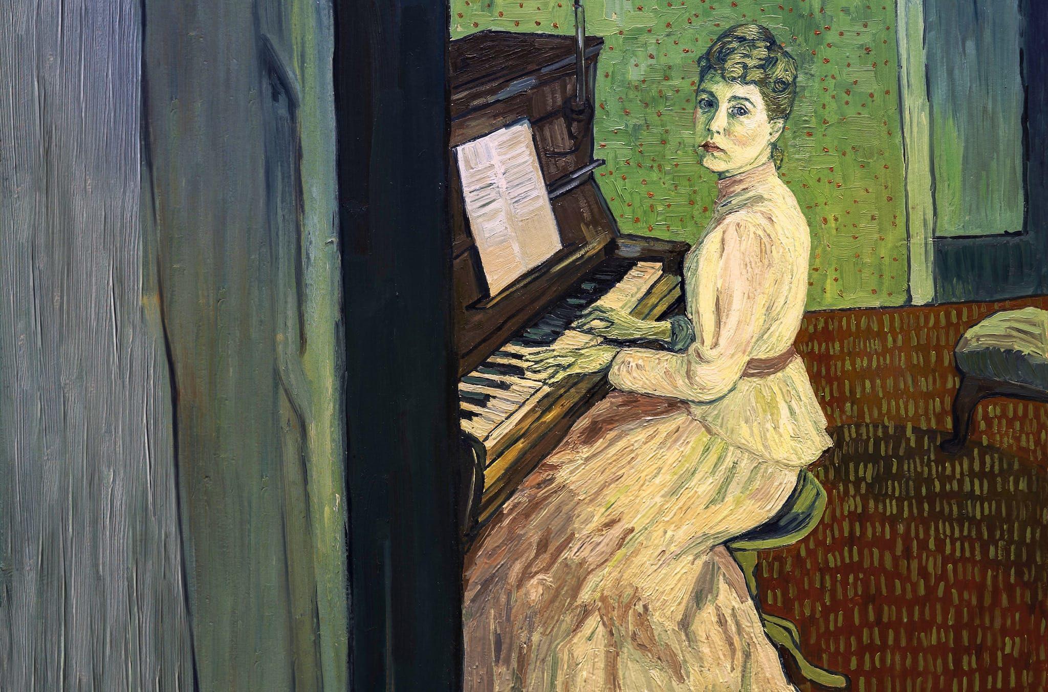 La passion Van Gogh de Dorota Kobiela et Hugh Welchman image film d'animation cinéma