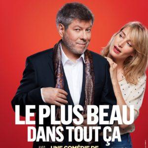 Le plus beau dans tout ça de Laurent Ruquier affiche Théâtre des Variétés
