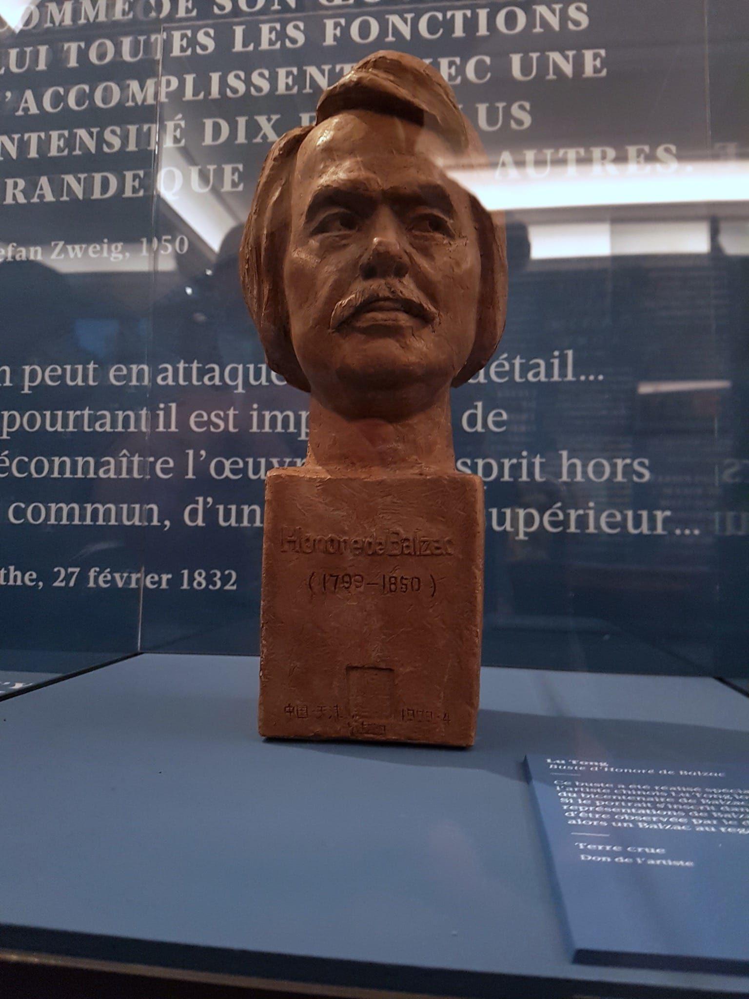 buste d'Honoré de Balzac