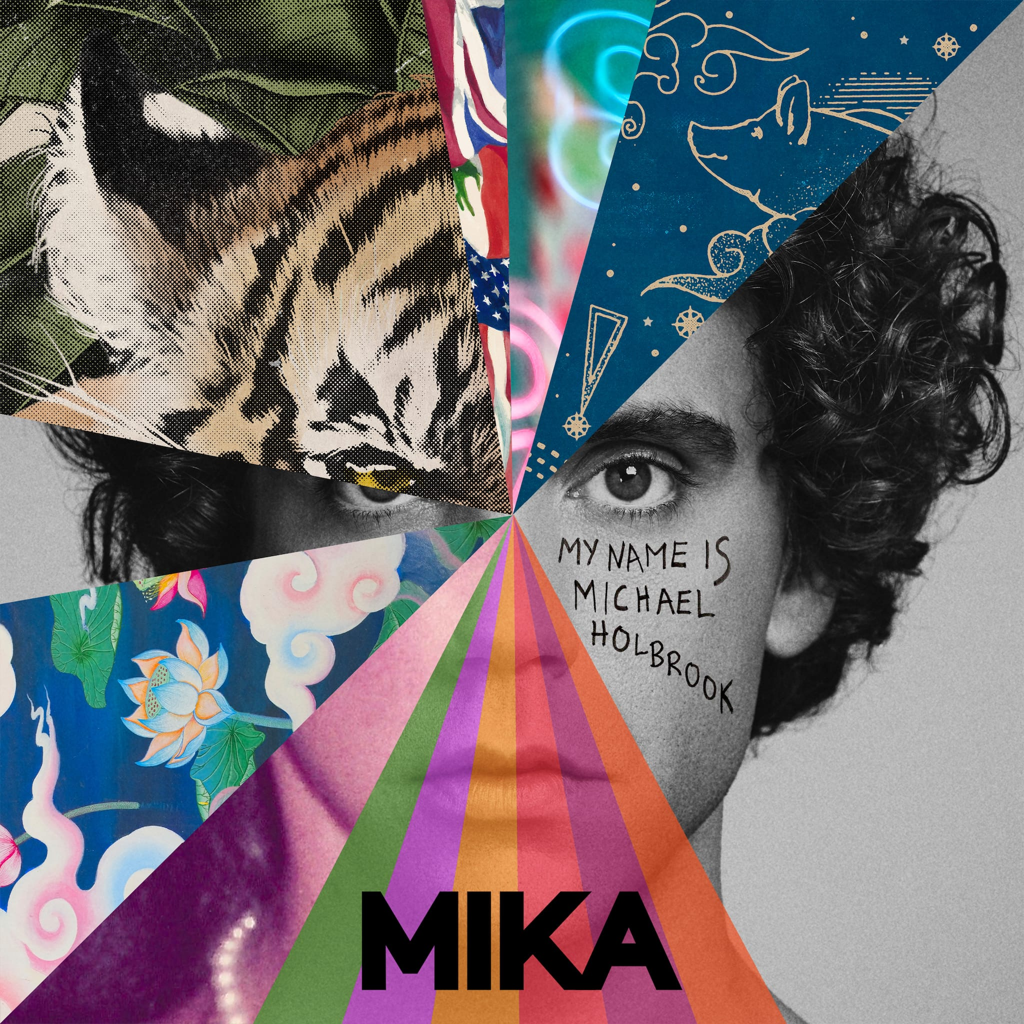 Mika image cover pochette album My Name Is Michael Holbrook musique