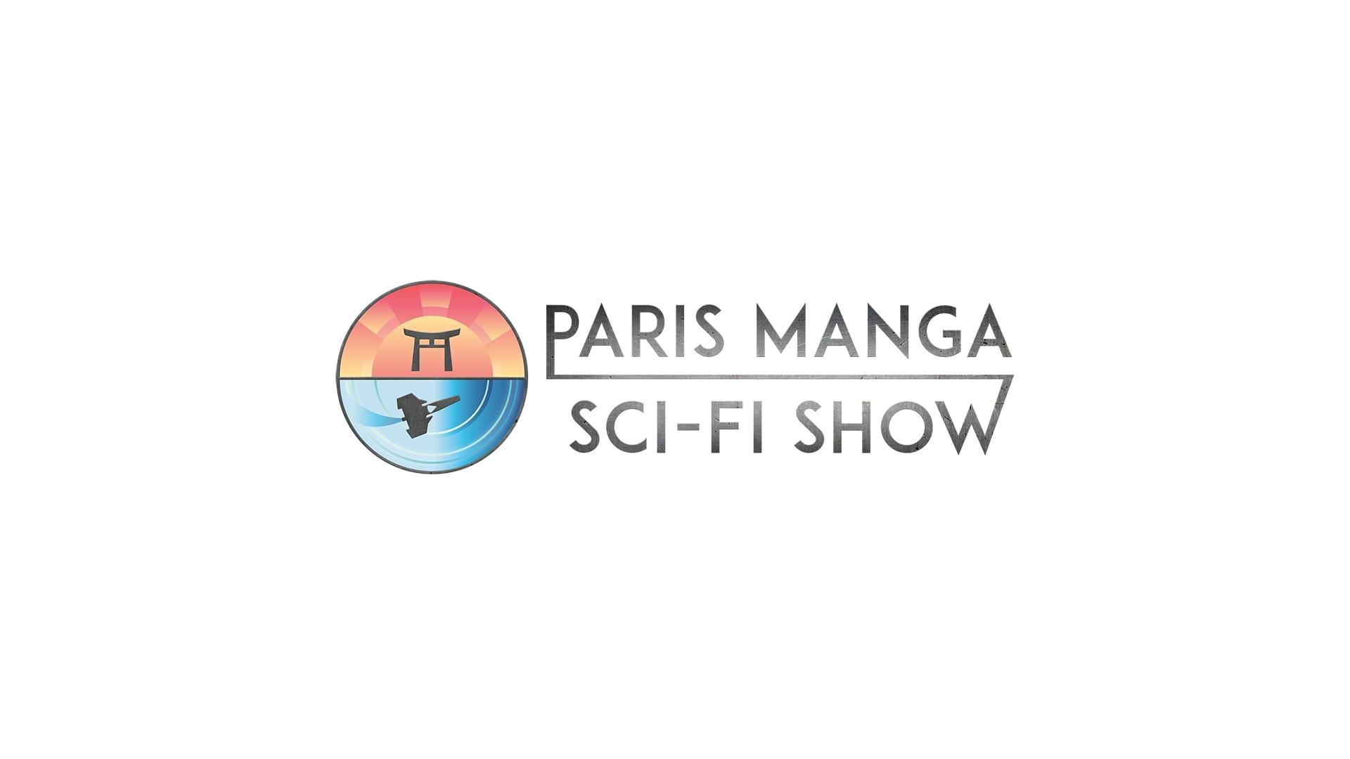 Paris Manga & Sci-Fi Show logo convention pop cuilture