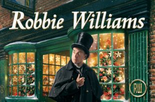 ROBBIE WILLIAMS cover pochette album THE CHRISTMAS PRESENT musique
