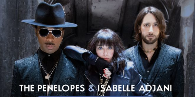 The PENELOPES and ISABELLE ADJANI single Meet Me By The Gates visuel musique