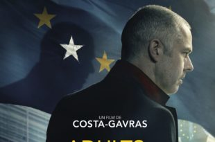 Adults in the Room de Costa-Gavras affiche film cinéma