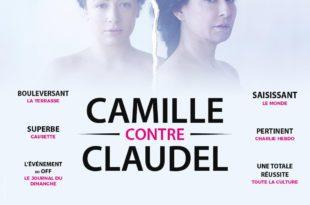 Camille contre Claudel affiche théâtre contemporain